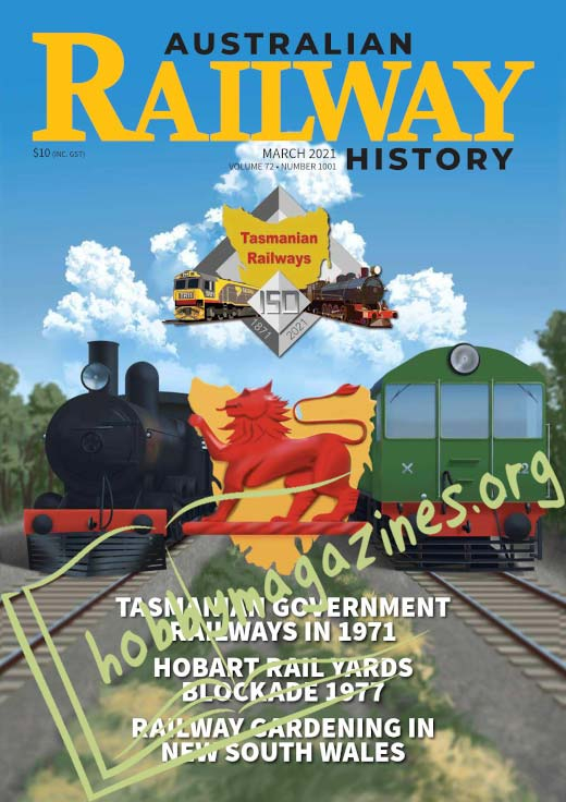 Australian Railway History - March 2021