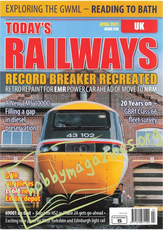 Today's Railways UK - April 2021