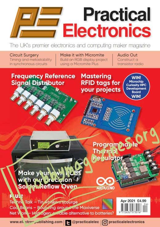 Practical Electronics - April 2021