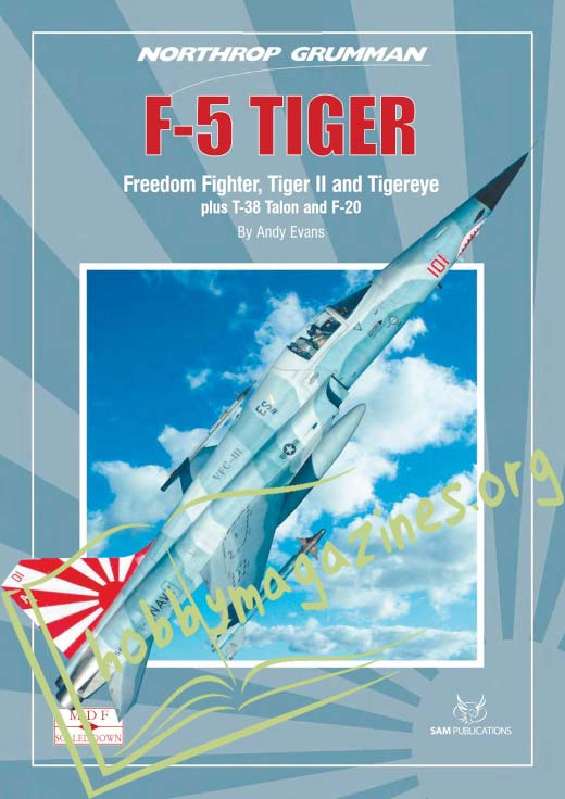 Modellers Datafile Scaled Down: F-5 TIGER