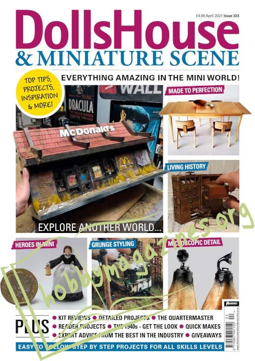 Dolls House & Miniature Scene - April 2021