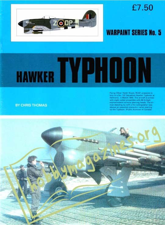 Warpaint series 5: Hawker TYPHOON