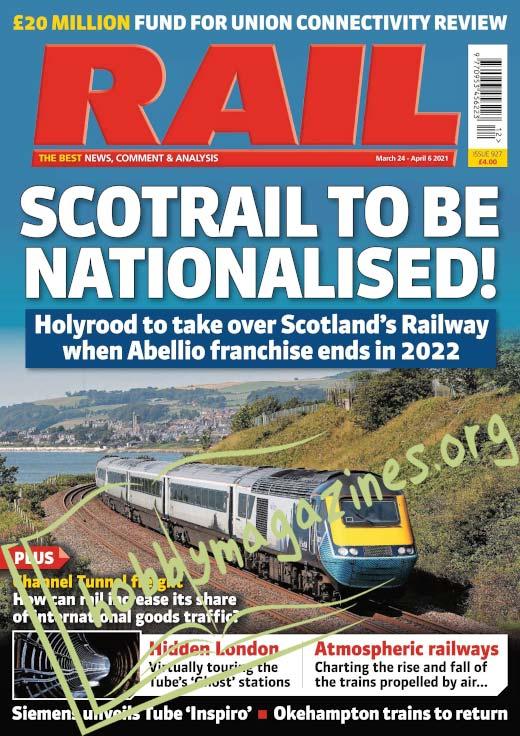 Rail – 24 March 2021