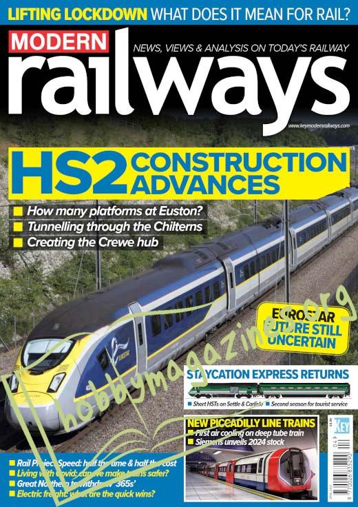 Modern Railways - April 2021
