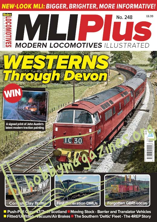 Modern Locomotives Illustrated Plus - April-May 2021
