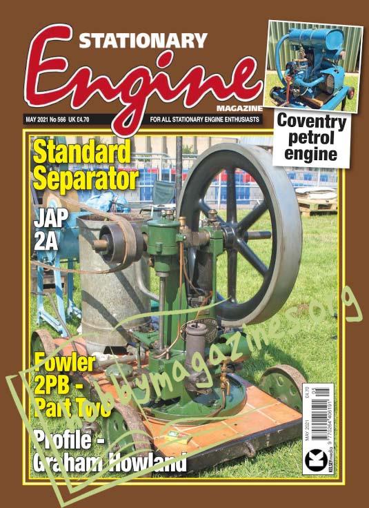 Stationary Engine - May 2021