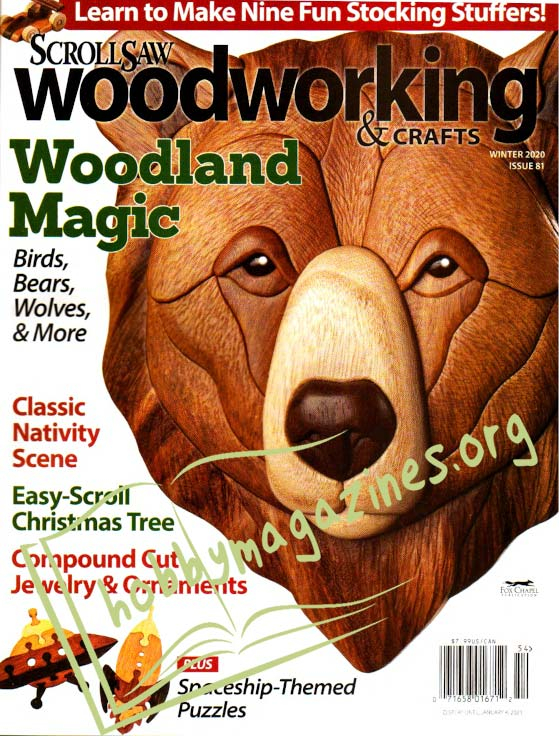 Scrollsaw Woodworking & Crafts - Winter 2020