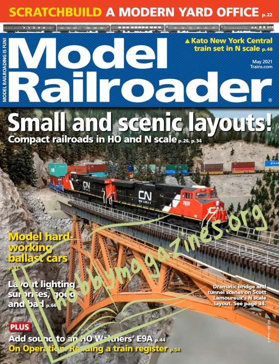 Model Railroader - May 2021