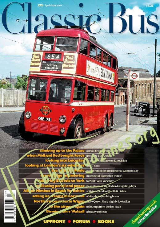 Classic Bus - April/May 2021