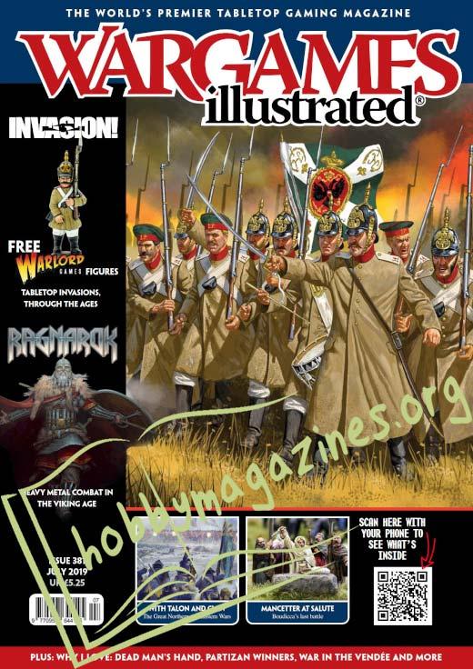 Wargames Illustrated - July 2019