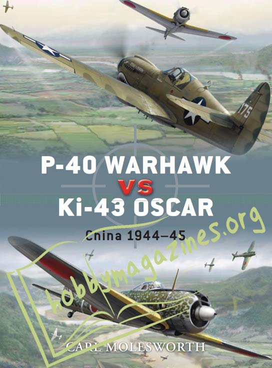 Duel: P-40 Warhawk vs Ki-43 Oscar.China 1944–45