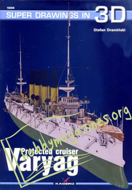 Super Drawings in 3D : Protected Cruiser Varyag