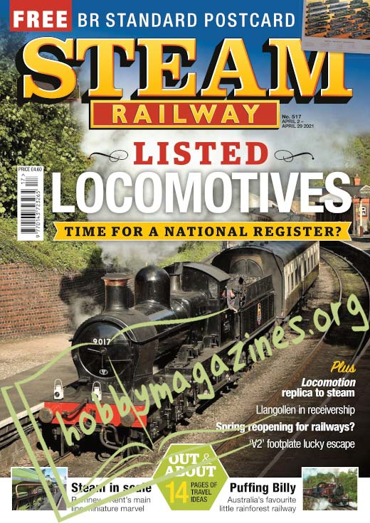 Steam Railway – 02 April 2021