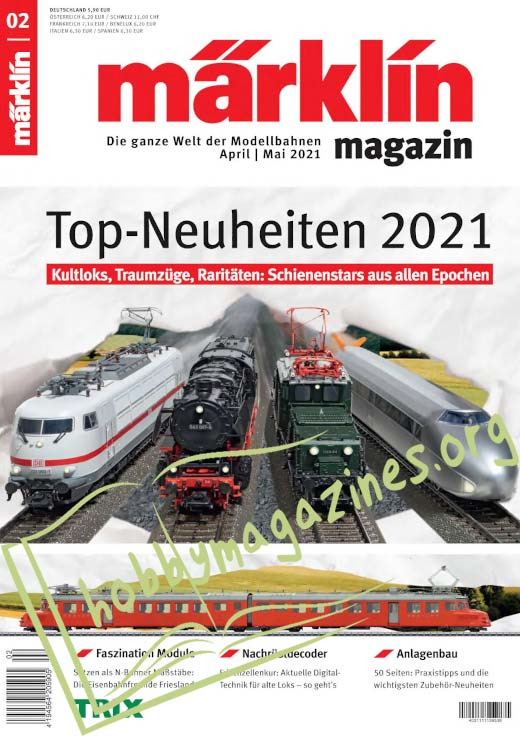 Märklin magazin – April/Mai 2021