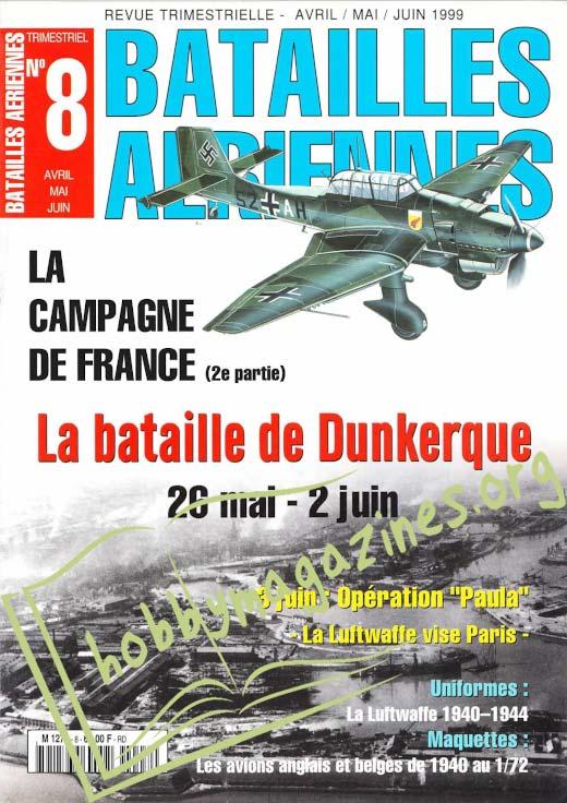 Batailles Aeriennes Numero 8
