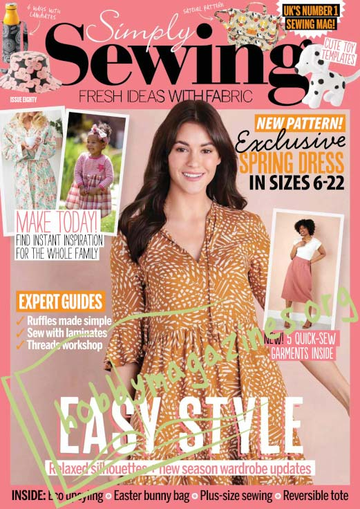 Simply Sewing Issue 80