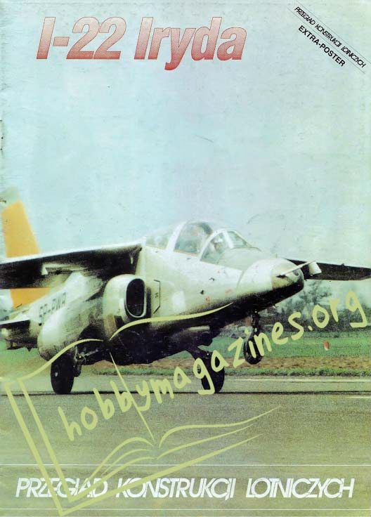 Przeglad Konstrukcji Lotniczych: I-22 Iryda