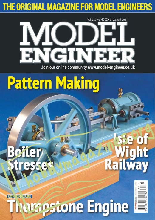 Model Engineer - 9 April 2021