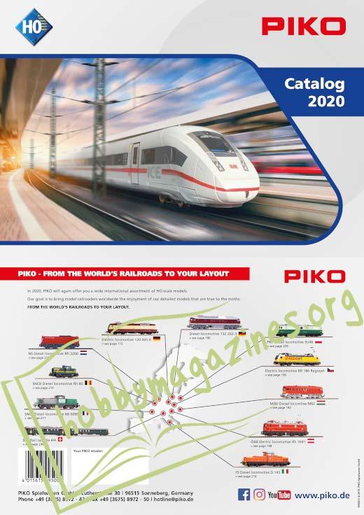 Piko H0 Catalog 2020