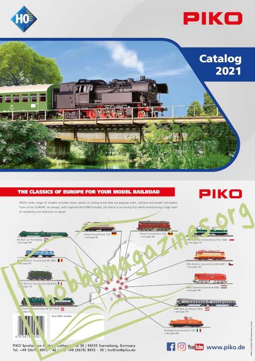 Piko H0 Catalog 2021