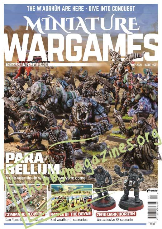 Miniature Wargames – May 2021
