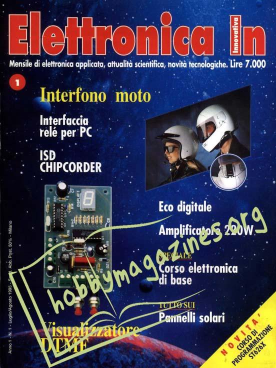 Elettronica In 001 - Luglio/Agosto 1995