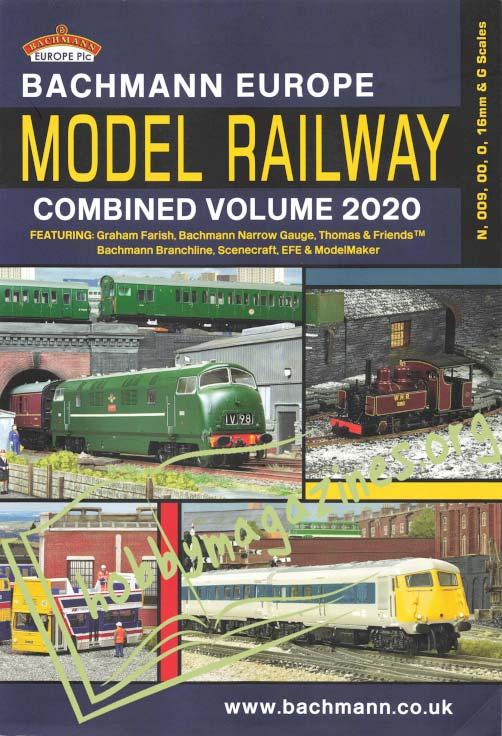 Bachmann Europe Model Railway Combined Volume 2020