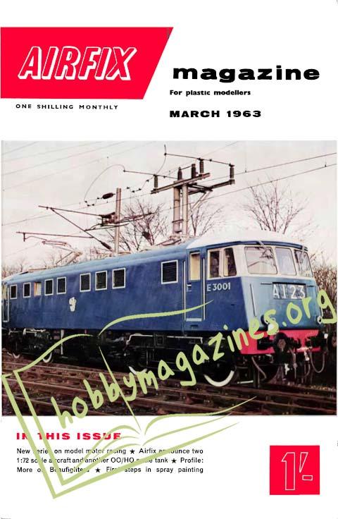 Airfix Magazine - March 1963 (Vol.3 No.10)