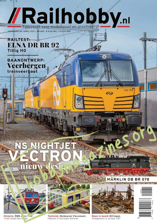 Railhobby – April 2021 (No.435)