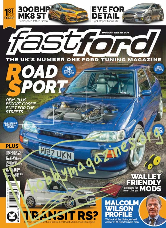 Fast Ford - March 2021 (Iss.431)
