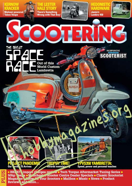 Scootering - February 2021