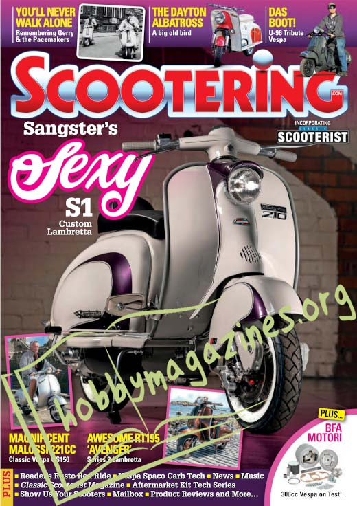 Scootering - March 2021
