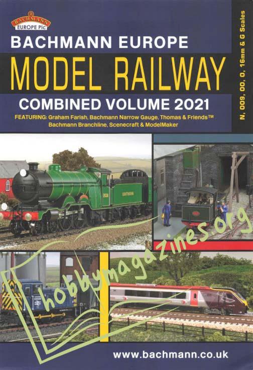 Bachmann Europe Model Railway Combined Volume 2021