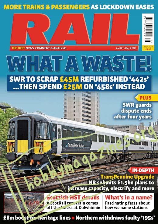 RAIL – April 21-May 4 2021 (Iss.929)
