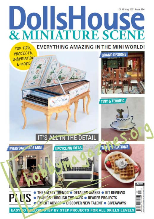 Dolls House & Miniature Scene - May 2021 (Iss.324)