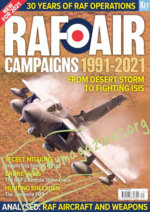 RAF AIR Campaigns 1991-2021.Fronm Desert Storm to Fighting ISIS