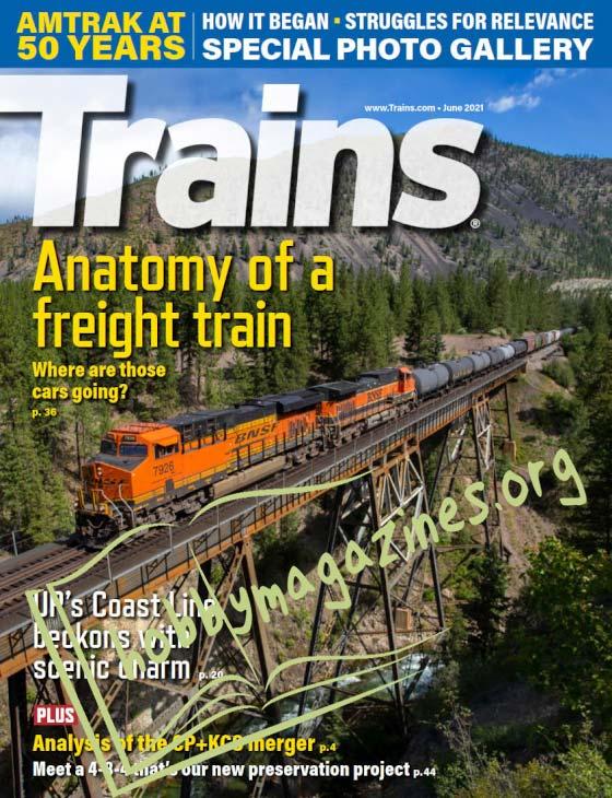 Trains - June 2021 (Vol.81 No.6)
