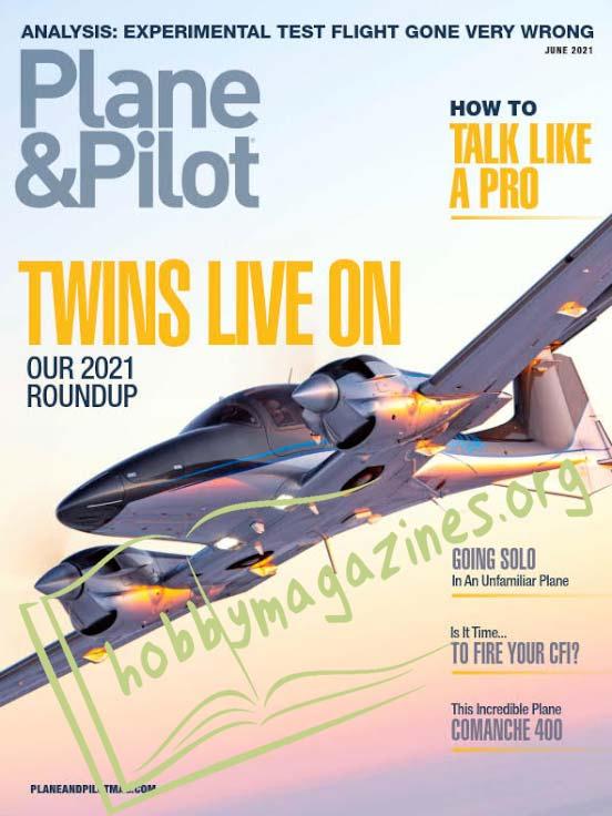 Plane & Pilot - June 2021