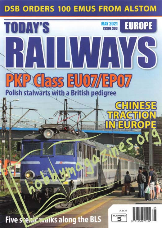 Today's Railways Europe - May 2021 (Iss.303)