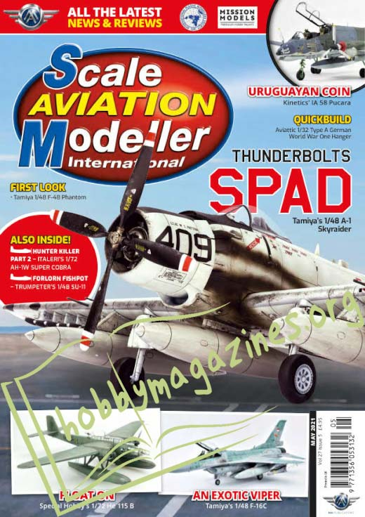 Scale Aviation Modeller International - May 2021 (Vol.27 Iss.5)