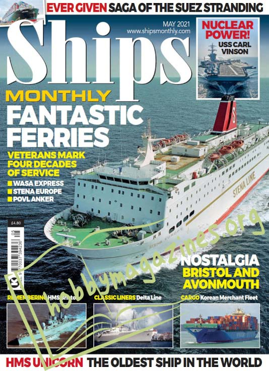 Ships Monthly – May 2021 (Vol.56 No.5)