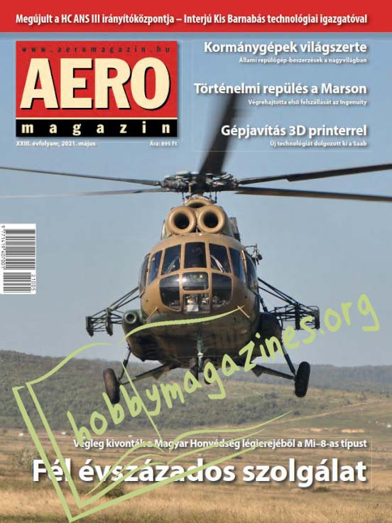 AEROMAGAZIN - Majus 2021