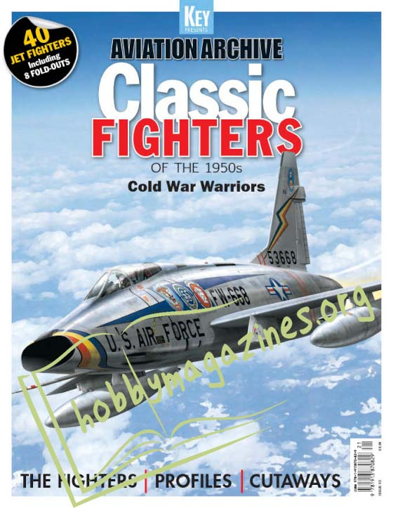 Aviation Archive - Classic Fighters of the 1950s (Iss.55)