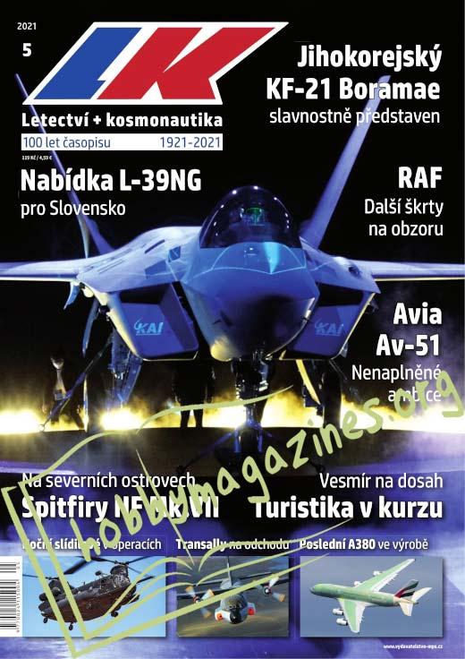 Letectvi+Kosmonautika 2021-05