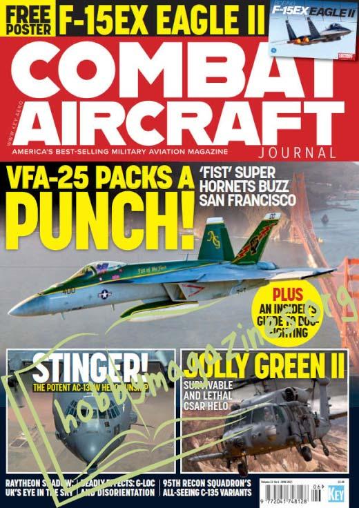 Combat Aircraft - June 2021 (Vol.22 No.6)
