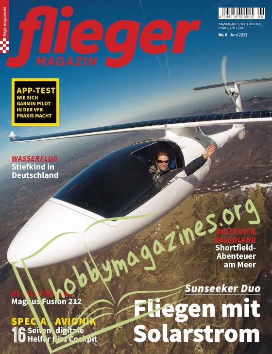 Fliegermagazin - Juni 2021
