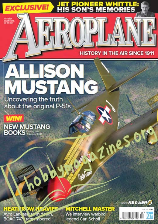 Aeroplane - June 2021 (Iss.578)