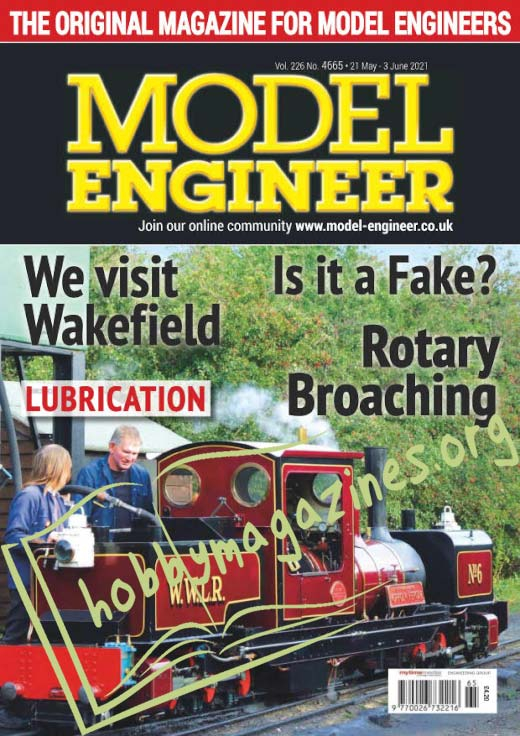Model Engineer 21 May-3 June 2021 (vol.226 No.4665)