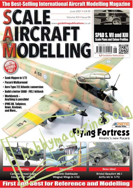 Scale Aircraft Modelling - June 2021 (Vol.43 Iss.4)