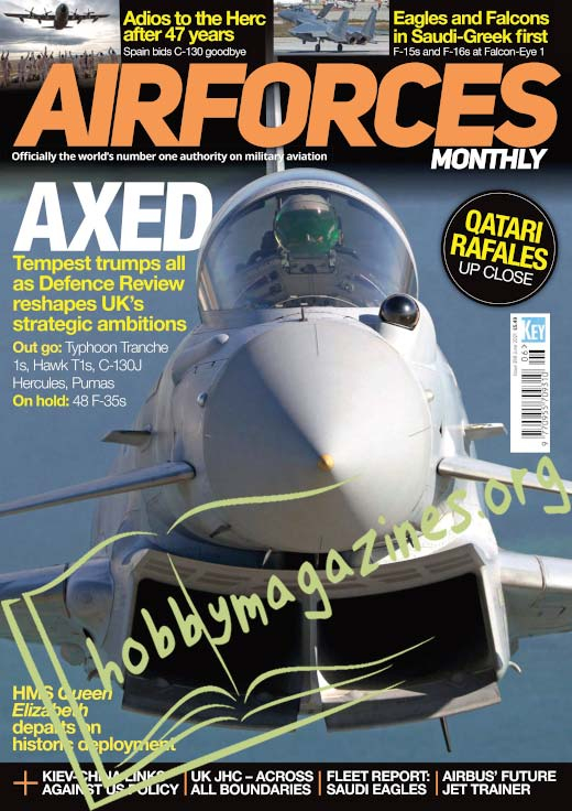Air Forces Monthly – June 2021 (Iss.399)